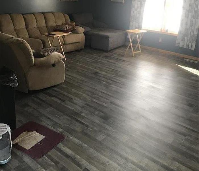 residence with finished flooring
