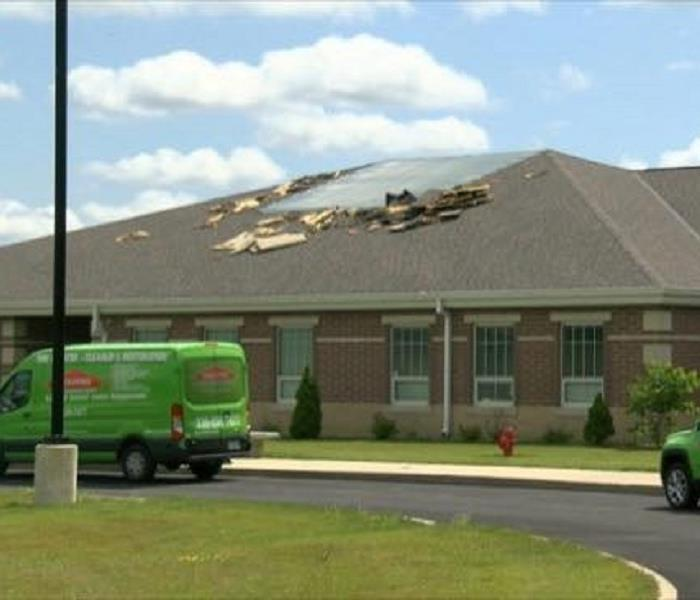 Fire Damage at Local Trumbull County School