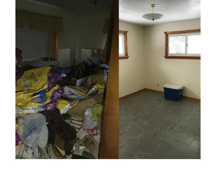 Before and After Extreme Cleanup