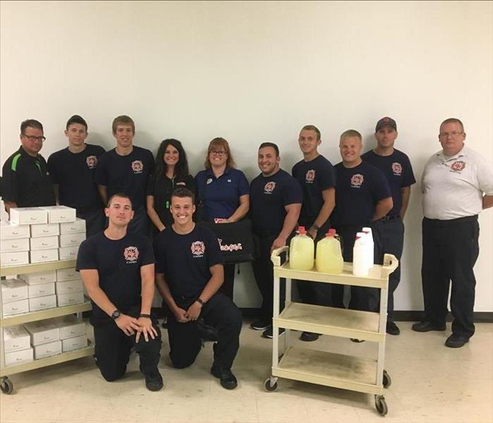 SERVPRO visits Brookfield Fire/EMS for HTC Fire Academy Training