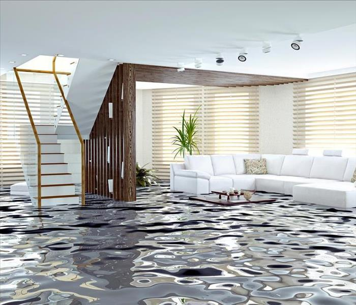 Water Damage Flooded Homes in Poland, Ohio
