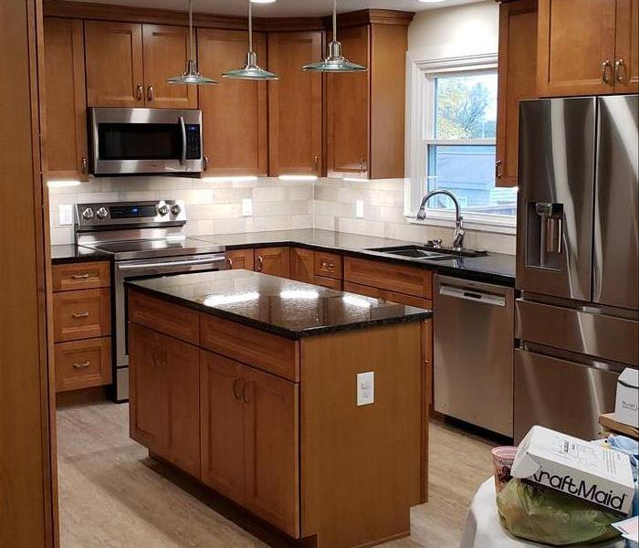 Building Services Kitchen Remodel in Poland, OH